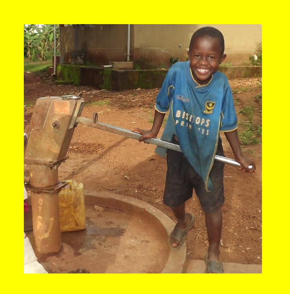 Boy at well